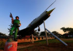 Statue of Israel's Entebbe Raid Raised in Entebbe